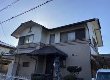 令和2年12月15日 福山市春日町外壁塗装 施工後4年目の訪問