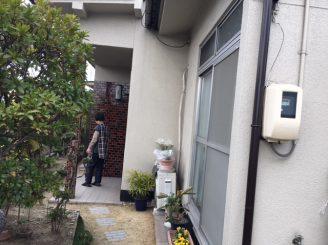 福山市日吉台 外壁塗装・屋根瓦交換 施工後4年目訪問 O様邸