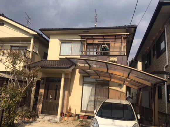 福山市神辺町 屋根・外装リフォーム 施工後2年目の訪問 O様邸