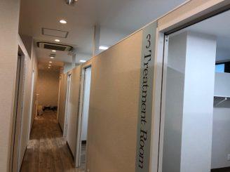 H30年11月20日 岡山県岡山市 エステ内装新装工事