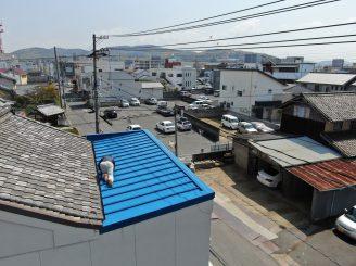 H31年3月30日 更新! 福山市松永町 屋根塗装替工事 プロテック事業部