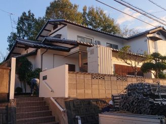 令和元年11月5日  更新! 岡山県浅口市 屋根葺き替え・外壁改修工事 T様