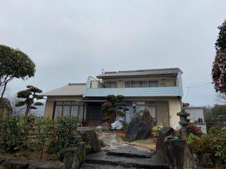 令和2年12月27日 更新! 福山市能島 外部鉄部他塗装
