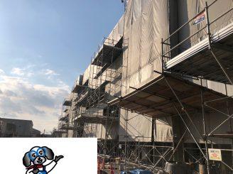 令和元年11月1日~ 福山市木ノ庄町 外壁特殊塗装工事 OSHIROX