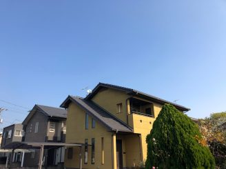 令和元年11月11日 福山市神辺町 外壁劣化診断