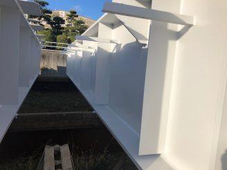 令和元年12月2日 更新! 岡山県笠岡市 鉄骨塗装工事