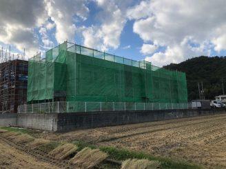 令和2年10月15日~ 福山市神辺町AP 屋根・外壁塗装替工事