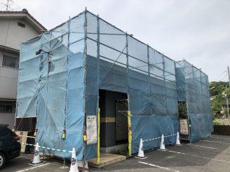 令和2年7月6日~ 福山市松永町外壁塗装工事