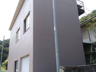 令和2年8月26日 更新! 福山市松永町外壁塗装替工事