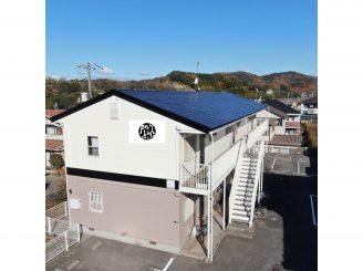 令和2年12月1日 更新! 福山市大門町AP 外壁・屋根塗装・ライン工事