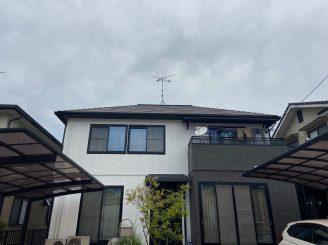 令和2年5月15日 福山市坪生町 屋根・外壁塗装 施工後2年後の訪問