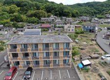令和2年5月21日 福山市大門町 屋上調査 ドローン空撮診断