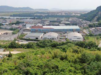 令和2年5月27日 岡山県工場塗装経過 ドローン空撮