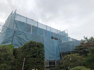 令和2年10月1日 ~ 福山市春日町 外壁塗装・鈑金 樋・左官工事