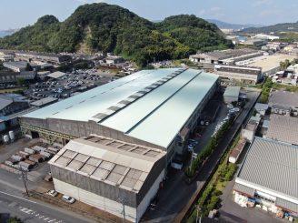 令和2年9月8日 更新! 川岸工業㈱ 岡山工場 屋根塗装替工事  20000㎡ 施工完了! 4か月施工!