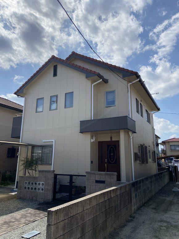 令和2年10月5日 福山市瀬戸町 外壁塗装 施工後1年目訪問