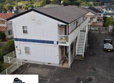 福山市大門町 屋根・外壁塗装・駐車場ライン工事