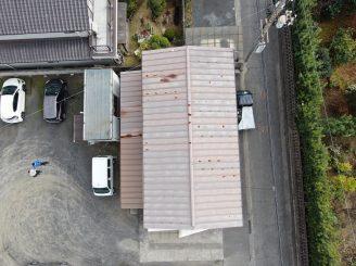 令和2年12月1日 福山市沖野上町 ドロ-ン空撮調査