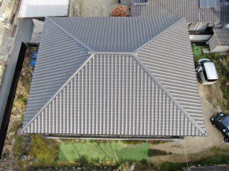 令和2年12月10日 岡山県浅口市 屋根・外壁ドロ-ン空撮調査