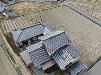 令和3年2月25日 福山市神辺町 ドロ-ン空撮診断