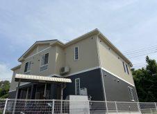 福山市引野町 アパ-ト屋根・外壁塗装工事