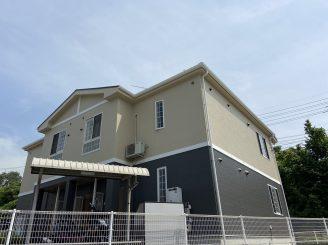 令和3年6月8日 更新! 福山市引野町 アパ-ト屋根・外壁塗装替工事