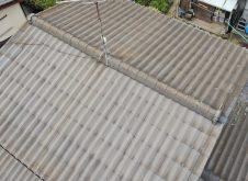 令和3年4月14日 福山市屋根・外壁ドロ-ン調査