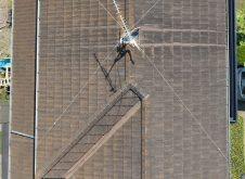 令和3年6月9日 福山市引野町 屋根・外壁ドロ-ン空撮診断