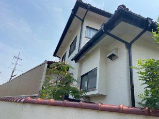 令和3年7月1日 福山市春日台 外壁他塗装替工事 施工後2年経過
