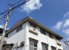 福山市奈良津町 アパ-ト屋根・外壁塗装工事